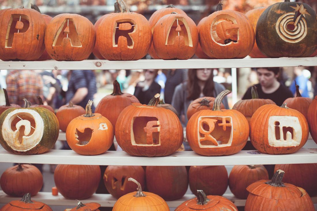 Social Media Pumpkins